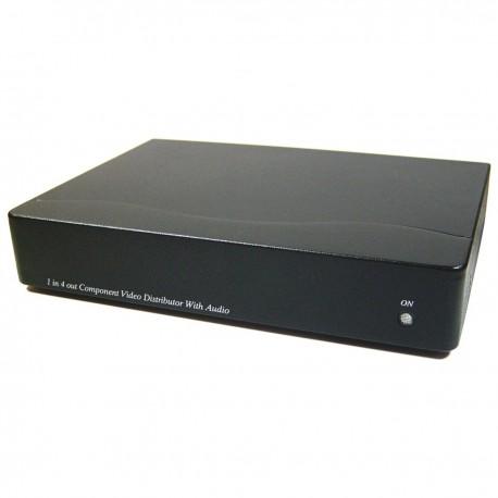 Multiplicador de audio y vídeo YPbPr de 4 puertos YD04A