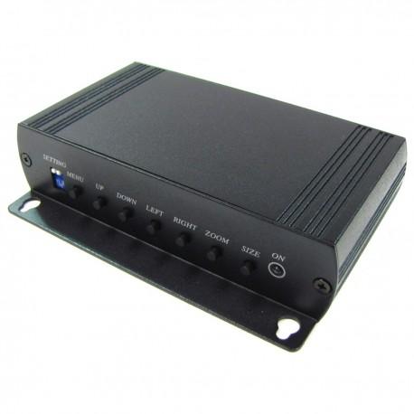 Conversor de VGA a vídeo compuesto CVBS tipo BNC VC01