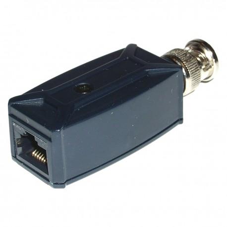 Transceptor de vídeo pasivo BNC a RJ45 TTP111V