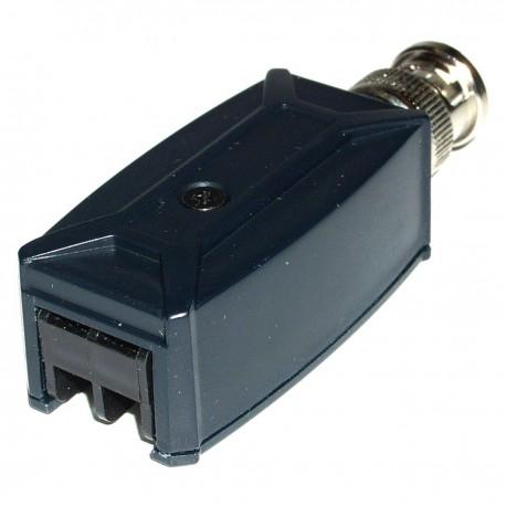 Transceptor de vídeo pasivo BNC a terminal block TTP111VT