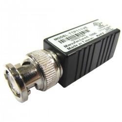 Transceptor de vídeo pasivo BNC a terminal block de 2pin TTP111VE