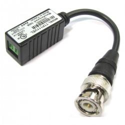 Video Transceiver BNC a Terminal Block de 2-pin 10cm TTP111VEL