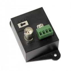 Extensor activo de UTP Cat.5 para vídeo transmisor TTA111VT