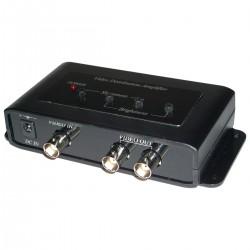 Distribuidor de vídeo de 2 puertos amplificado CD102A