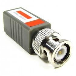Balun Pasivo Compacto Recto (BNC a Terminal Block 2-pin)