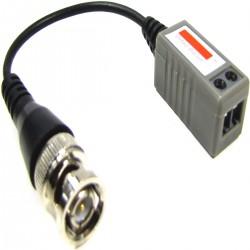 Balun Pasivo Compacto Cable (BNC a Terminal Block 2-pin)