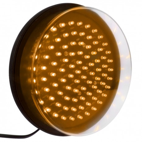 Luz LED para semáforo IP65 200mm de 220VAC amarillo