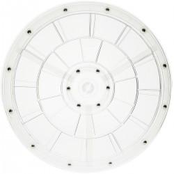 Base giratoria manual de 30,6 cm. Plataforma rotatoria transparente