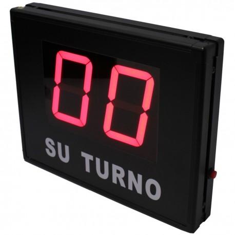 Gestión de colas electrónico Su Turno 2 dígitos (código 01)