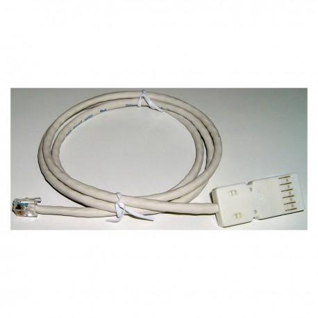 Cable TB110-RJ12(6P6C) 0.5m (3 pares)
