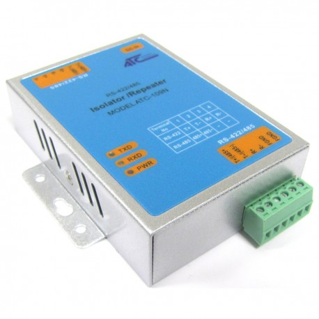 Repetidor RS422 RS485 con aislamiento fotoeléctrico industrial