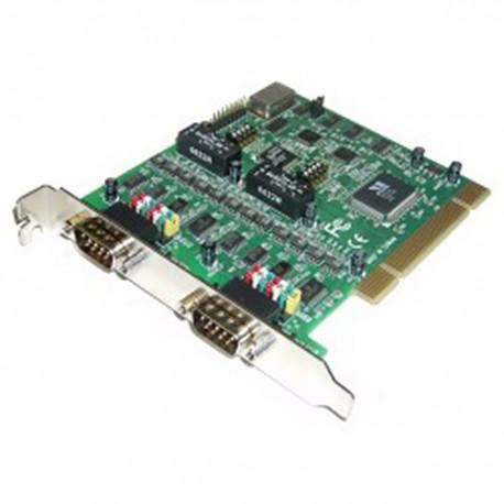 Tarjeta uPCI RS422 RS485 2 port VSCOM PROTEGIDA AISLADA