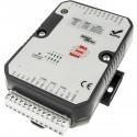Módulo RS485 Modbus I/O 4 entradas analógicas 4 entradas y salidas digitales Relé