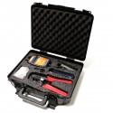 Estuche de herramientas varias de 35 piezas modelo TTK-638 para instalación de cables
