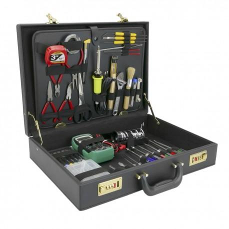 Maletín de herramientas varias de 39 piezas