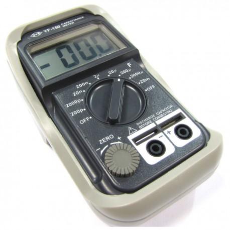 Medidor digital de capacidad modelo YF-150