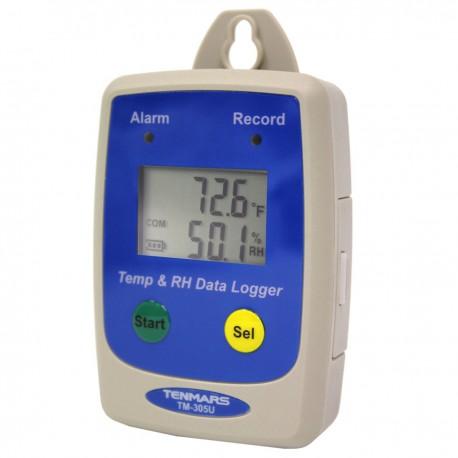 Sensor y registro de temperatura y humedad relativa ST305U