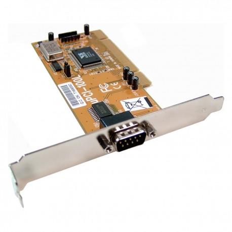 Tarjeta uPCI Serie 16C550 VSCOM (1S)