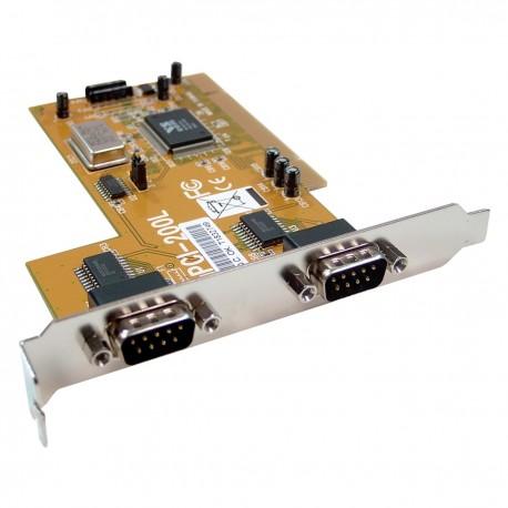 Tarjeta uPCI Serie 16C550 VSCOM (2S)