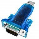 Adaptador USB a RS232 de 1 puerto DB9 macho