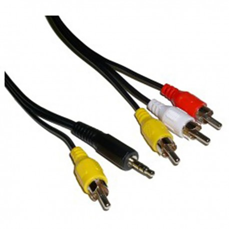 Cable TV Audio Vídeo M/M 1.8m
