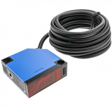 Sensor interruptor célula fotoeléctrica NO+NC 12-24VDC 250VAC autoreflexiva