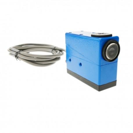 Sensor interruptor célula fotoeléctrica color 38x62x100mm 10-30VDC autoreflexivo