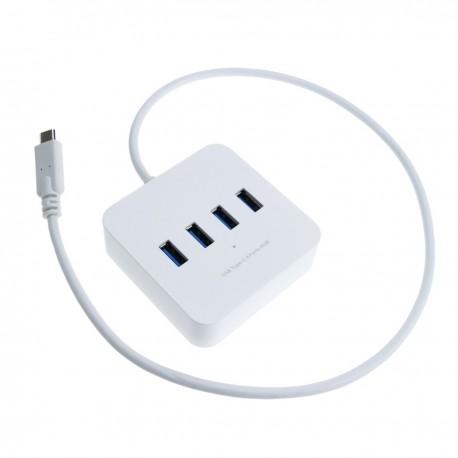 Concentrador USB 3.1 de 4 puertos 5Gbps