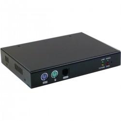 Extensor KVM Rack 1U Uniclass Prima de IP PS2 USB VGA 1KVM a 1CPU