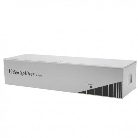 Multiplicador VGA de 250MHz de 8 puertos