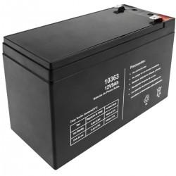 Batería sellada de plomo-ácido de 12V 9Ah recambio SAI