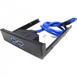 Bahia USB 3.0 de 2 x USB A hembra a HS20 hembra