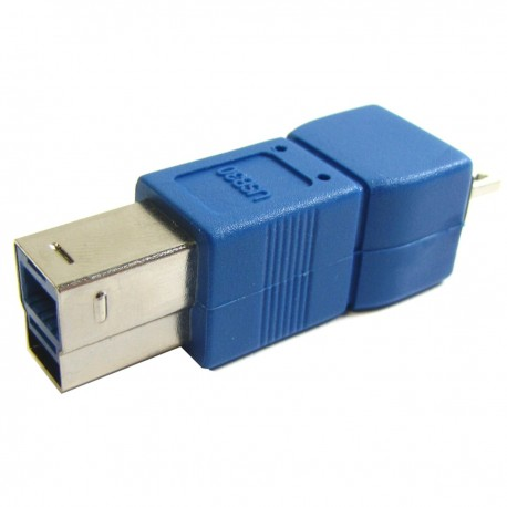 Adaptador USB 3.0 a USB 2.0 (B Macho a MicroUSB B Macho)