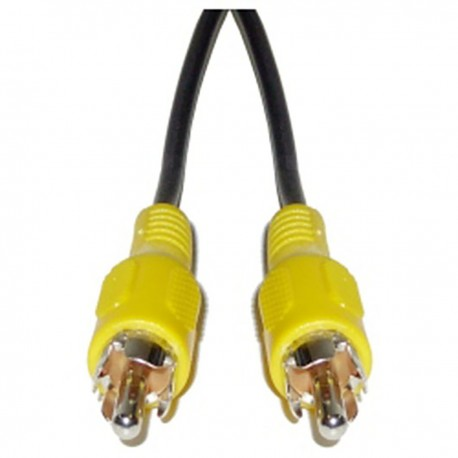 Cable Vídeo 20cm (RCA-M/M)