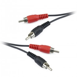 Cable Audio Stereo 20m (2xRCA-M/M)