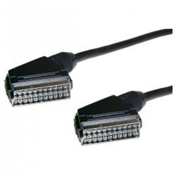 Cable Euroconector SCART 10m (M/M)