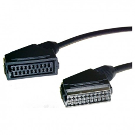 Cable Euroconector SCART 1m (Extensor M/H)