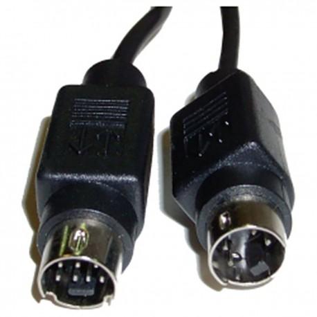 Cable S-VHS 10m (MiniDIN7-M/MiniDIN4-M)