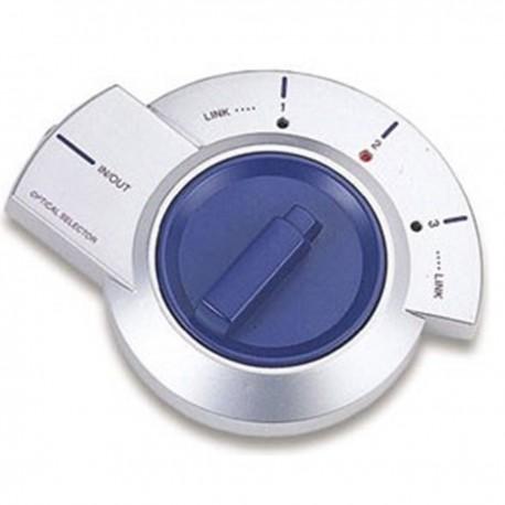 Selector de audio digital (3 x TosLink a 1 x TosLink)