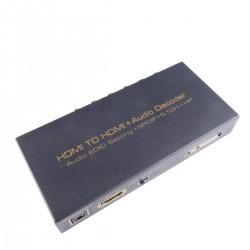 Decodificador de audio HDMI EDID a 5.1ch 2ch SPDIF óptico y surround