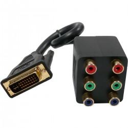 Cable Duplicador Pasivo (1 DVI a 2 3xRCA-H)