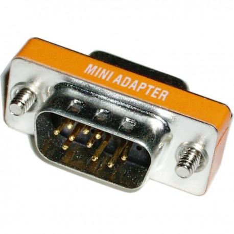 Adaptador Compacto VGA (DB9-H/HD15-M)