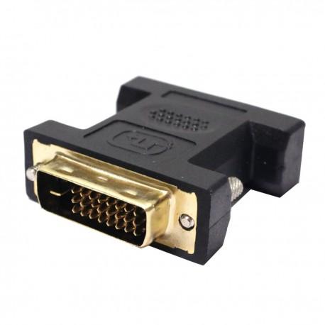 Adaptador DVI-D macho a DVI-I hembra dual link