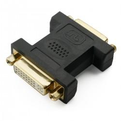 Adaptador DVI-I hembra a DVI-I hembra dual link