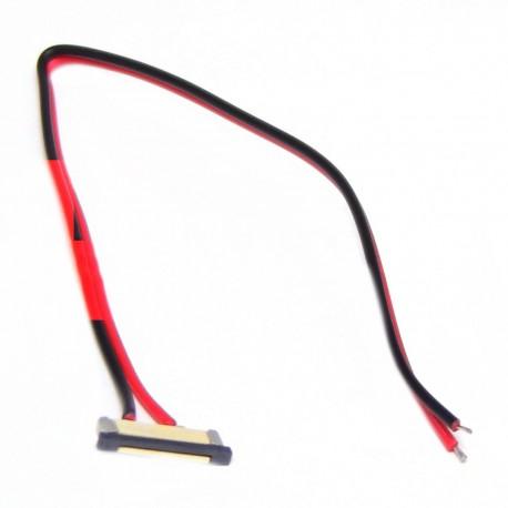 Conector con cable para tira de LED monocromo de 12 mm
