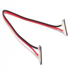 Empalme con cable de 20 cm para tira de LED monocromo de 12 mm