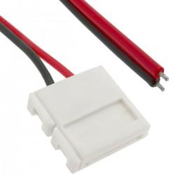 Conector a presión con cable para tira de LED monocromo 10mm