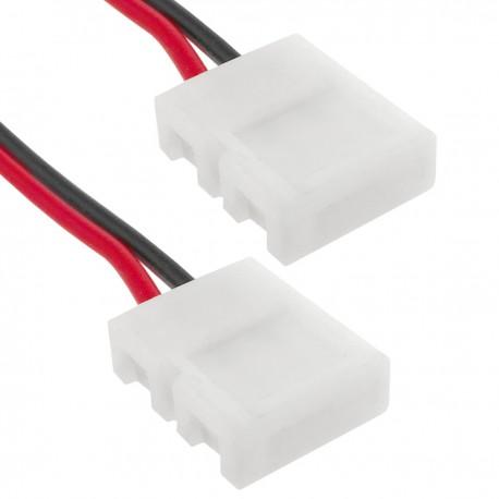 Empalme a presión con cable para tira de LED monocromo 10mm