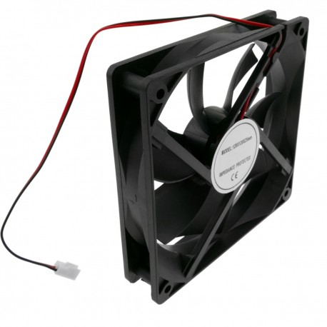 Ventilador de chasis 120x120x25 mm de 5 VDC para caja de ordenador con rodamiento de bolas