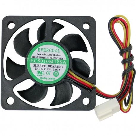 Ventilador de chasis 50x50x10 mm de 12 VDC para caja de ordenador